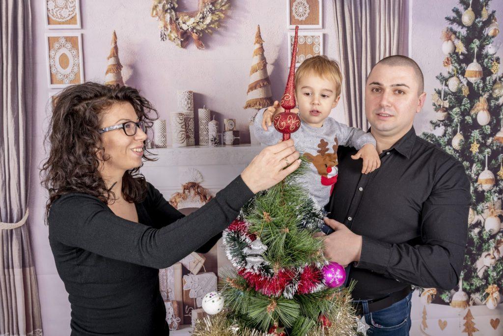Коледна Фотосесия - Семейство Минкови