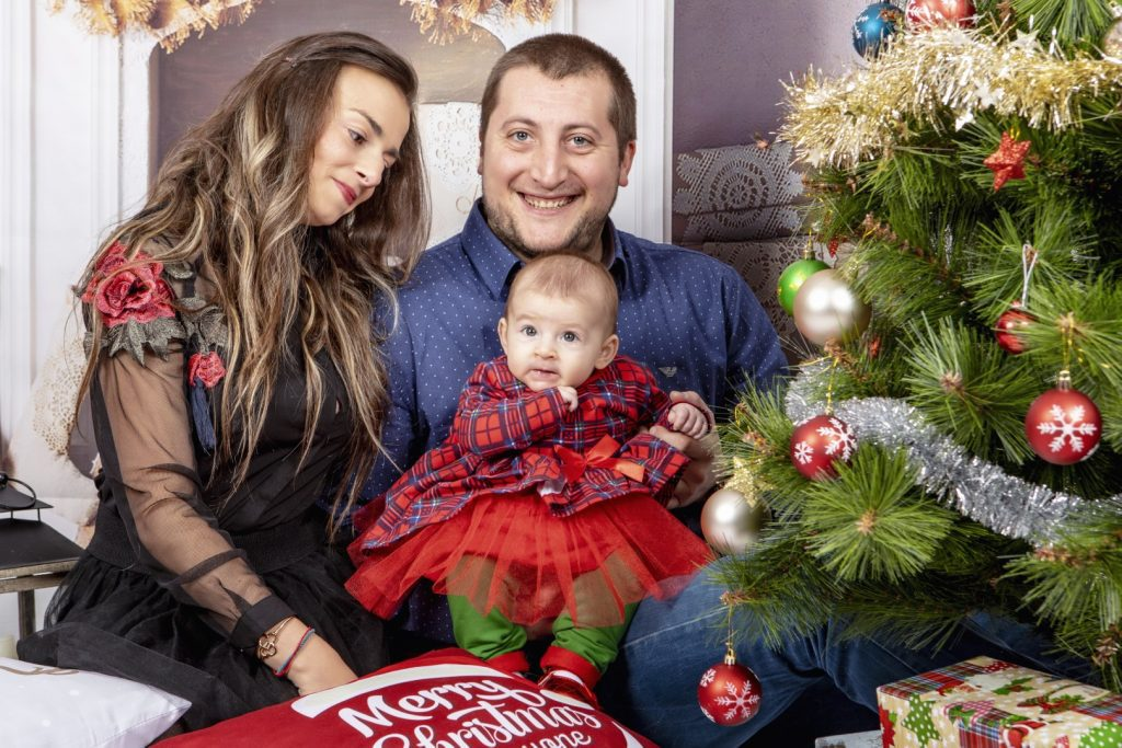 Коледна Фотосесия - Семейство Тотеви