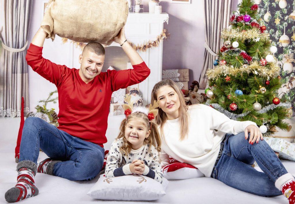 Коледна Фотосесия - Семейство Яръмови
