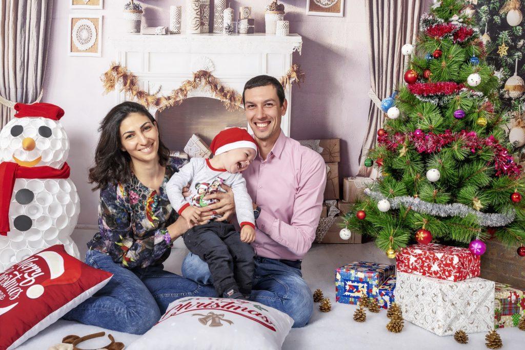 Коледна Фотосесия - Семейство Колеви