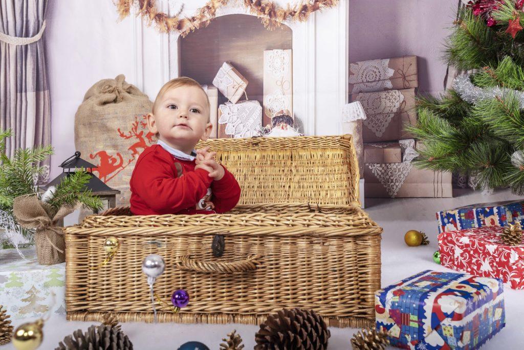 Коледна фотосесия - Криси
